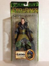 ELROND ELVEN SWORD ATTACK ACTION LORD OF THE RINGS TOLKIEN TOY BIZ RARE HTF LOOP
