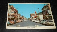 Vintage Postcard Downtown Albany Oregon 1960s Cars