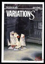 PACUSH BLUES  N°7  VARIATIONS    P'TILUC     EO 1991    VENTS D'OUEST