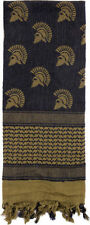 Olive Drab Shemagh Heavyweight Spartan Helmets Tactical Desert Keffiyeh Scarf