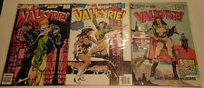 VALKYRIE! complete 3 issue mini series 1-3 Eclipse Comics 1988 Air Fighters