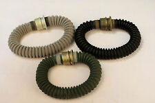 SET of 3 Gas Mask Standard Hoses Grey Green Black 50 cm Nato screw thread NEW