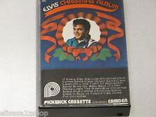 Elvis Presley Blue white Christmas Album CK-9001 PickWick RARE Cassette Tape