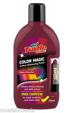 Color Magic, color enriquecido Cera Polish [ fg6904 ] Rojo Oscuro 500ml