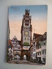 Ansichtskarte Freiburg um 1900 Schwabentor