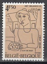 """Belgique / Belgien Nr. 1920** Gust de Smet """"Die Bäuerin mit den Eiern"""""""