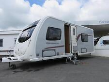 SWIFT CONQUEROR 565, 4 BERTH CARAVAN WITH TWIN FIXED BEDS, ALDE HEATING.....SOLD