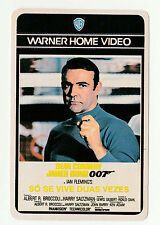 1987 WB Portugese Pocket Calendar James Bond Sean Connery You Only Live Twice