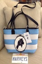 NWT DISNEY HARVEYS ALICE IN WONDERLAND MINI STREAMLINE TOTE SHOULDER BAG SOLD OU