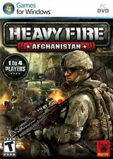 Heavy Fire: Afghanistan - War Combat Mountain Warfare Air Assault Guns PC NEW
