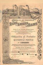 Comp. de los Ferrocarriles de Madrid a Zaragoza y a Alicante, obl., Madrid, 1902