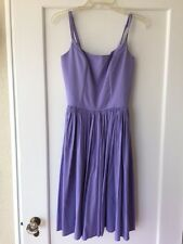 Pinup Couture Jenny Dress Lavender Medium