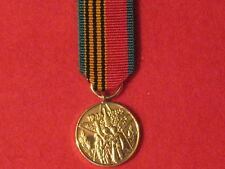 Miniature World War 2 Russian Convoys Medal 40th with ribbon in Mint Condition..