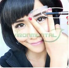 Lot of 3 Different Women Eyebrow Liner Definition Type Plastic Paper Template