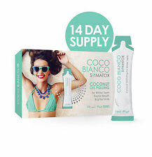 SOMATOX COCO BIANCO - Coconut Oil Pulling | Teeth Whitening - 14 Day Mint White