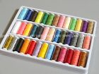 39 Spools Sewing Thread Set Polyester 39 Colors 200 Yards per Spool N109