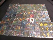 1995 FLEER METAL BATMAN FOREVER 100 CARD SET WITH ALL 10 GOLD BLASTER CARDS