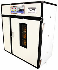 RITE FARM PRODUCTS PRO-352 CABINET INCUBATOR & HATCHER 352 CHICKEN EGG CAPACITY