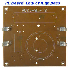 Passive Cross Over PC board 2 each high pass or Low pass for PA/DJ Speakers