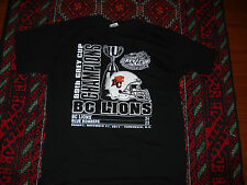 BC LIONS CFL FOOTBALL 99th  GREY CUP CHAMPIONS T SHIRT LARGE B.C. MEN'S