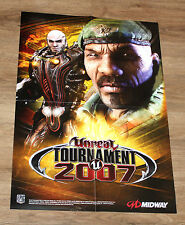 Unreal Tournament 3 2007 PROMO POSTER 59x42cm XBOX 360 ps3