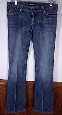 vtg Rock & Republic Blue Jeans Jagger style low rise boot polycotton sz 27x35
