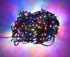LED Lichterkette Ostern Weihnachten Party Tannenbaum innen/außen Bunt Multicolor