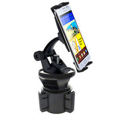 VIBRATION FREE Car Cup Holder Mount for Apple iPhone 6 Plus 5S Fit OtterBox Case