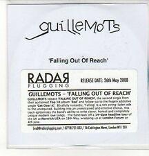 (CZ818) Guillemots, Falling Out of Reach - 2008 DJ CD