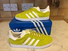 Adidas Gazelle Men's Sneakers Trainers Shoes Unity Lime Green Suede Originals