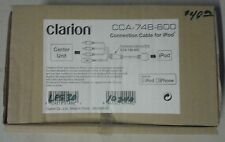 OEM ORIGINAL CLARION CCA-748-600 INTERFACE CABLE NEW IN BOX FOR iPOD iPHONE