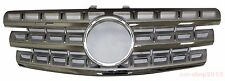 Front Grille Mercedes Benz W164 ML Class 2009-2011 Chrome & Silver ML550 ML350