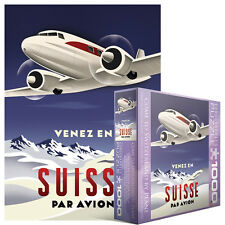 Jigsaw EG80001646   Eurographics Puzzle 1000 Pc - Come to Switzerland by Plane