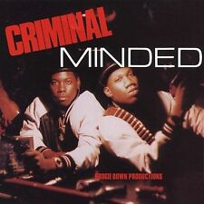 Boogie Down Productions : Criminal Minded CD (1993)