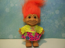 "I'M A BIG SISTER - 5"" Russ Troll Doll - NEW IN ORIGINAL WRAPPER"