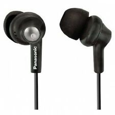 Panasonic RP-HJE280-K Inner Ear Earbud Headphones (Earbuds) w/Extension (Black)