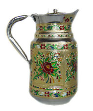 Stainless Steel Jug  decorated Pitcher Juice water Cold drink coffee tea pitcher