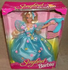 New in Box (c)1995 Songbird Barbie Doll MATTEL 14320 Box does show wear and ...