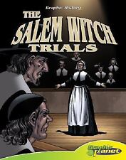 The Salem Witch Trials (Graphic History (Graphic Planet))-ExLibrary