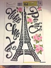 Eiffel Tower  Take me to Paris Wall Stickers Decor Locker Girls room