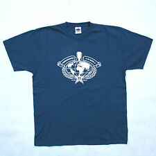 Hard Rock Cafe embajadores de rock Munich Tee 35 años Azul Cielo T Shirt Top L