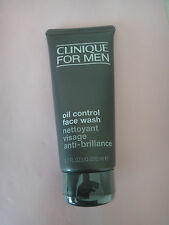 Sealed Clinique for Men OIL-CONTROL Face Wash 6.7oz/200ml-Normal to Oily Skin