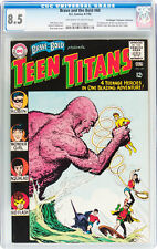 Brave and the Bold #60 CGC 8.5 OW/W 1st App. Donna Troy Teen Titans Pedigree