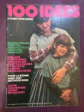 Revue 100 IDÉES à faire vous même n°29 Mars 1976 Reliure... Pantalon... Tissage.