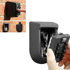 Key Safe Storage Box Wall Mount Home Security Lock Car Door Outdoor Combination