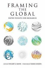 Global Research Studies: Framing the Global : Entry Points for Research...