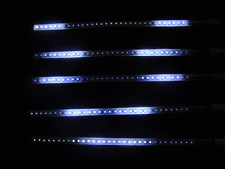 "12"" LED White Scanner Knight Rider Lighting Strip for Car motorcycle Decoration"