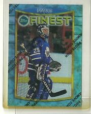 1994/95 Topps Finest Hockey Felix Unpeeled Potvin Refractor Card # 26