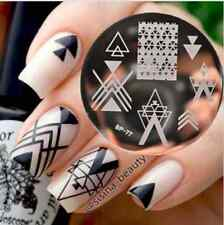 Nagel Schablone BORN PRETTY BP77 Nail Art Stamp Stamping Template Plates