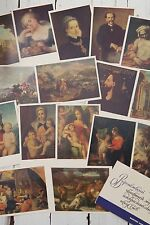 16 Old SoVIET Russian Postcards postcard VORONEZH Art Museum 1st issue Pictures!